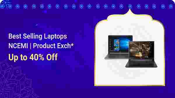 Up To 40% Off On Best Selling Laptops