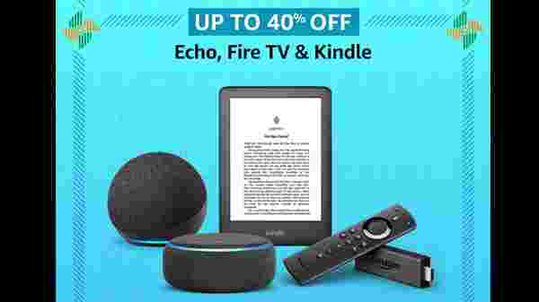 Up To 60% Off On Echo, Fire TV, And Kindle