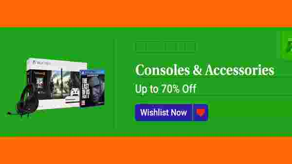 Up To 70% Off On Gaming Consoles And Accessories