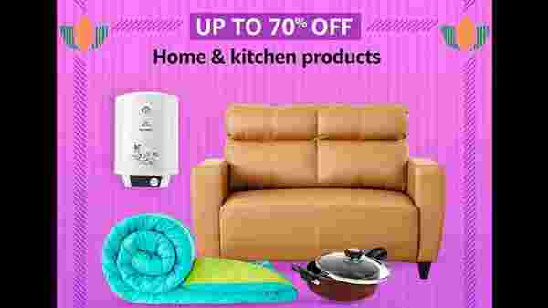 Up To 70% Off On Home And Kitchen