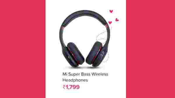 18% OFF Off On Mi Super Bass Wireless Headphones Gold