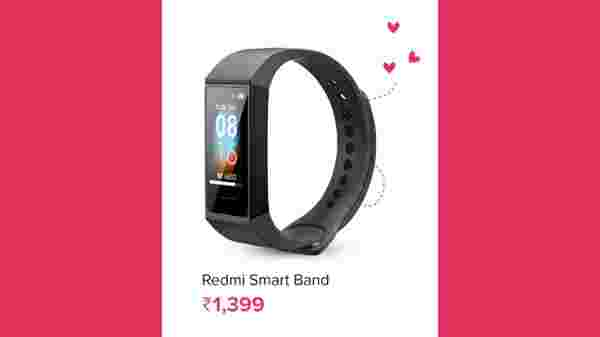 33% OFF On Redmi Smart Band