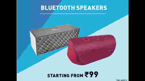 Bluetooth Speakers Starting From Rs. 99