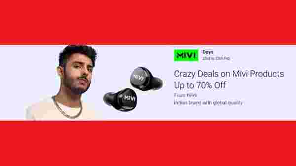 Flipkart MIVI Days Sale: Offers On Speakers, Headsets, And More