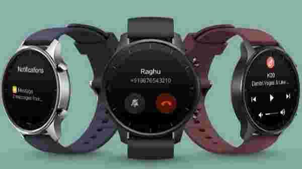 MI Watch Revolve Midnight Black