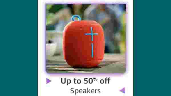Up To 40% Off On Speakers