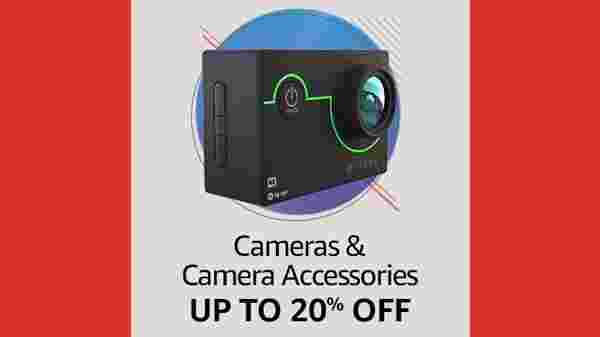 Up To 20% Off On Camera And Accessories