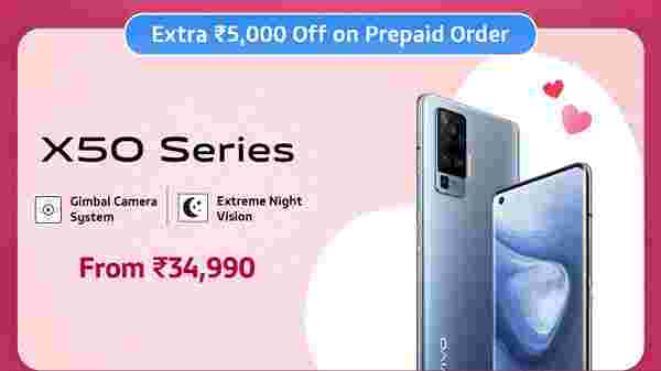 9% Off On Vivo X50 Pro