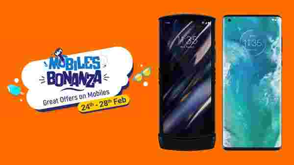 Flipkart Mobile Bonanza 2021 Offers On Motorola Smartphones