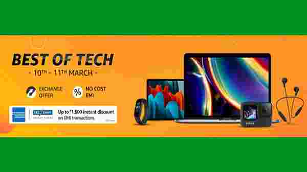 Amazon Best Of Tech Gadgets 2021 Sale: Offers On Electronics Gadgets