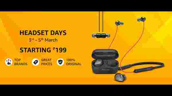 Amazon Headsets Days 2021: Offers On Earbuds, Headsets, Bluetooth Headphones, And More