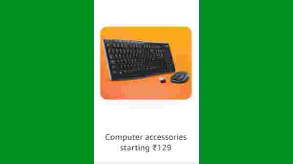Computer Accessories Starting From Rs. 129