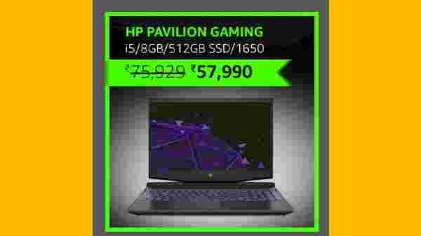 HP Pavilion Gaming 9th Gen Intel Core i5 Processor (24% Off)