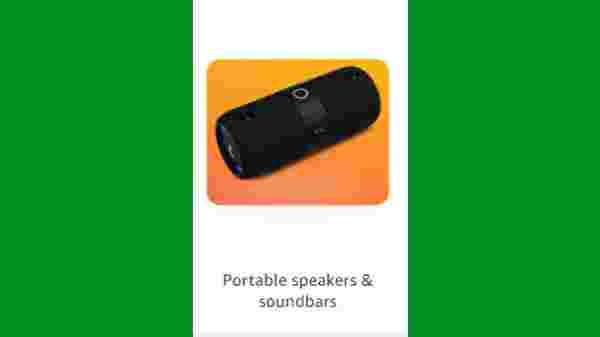 Discount Offer On Portable Speakers & Soundbars