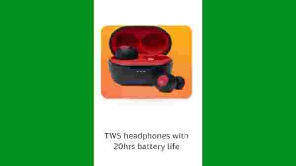 Discount Offer On Long-Lasting TWS Headphones