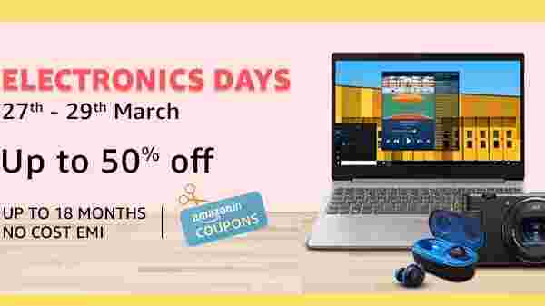 Amazon Electronics Day Sale: Up To 70% Off On Laptops, Tablets, Camera And More Accessories