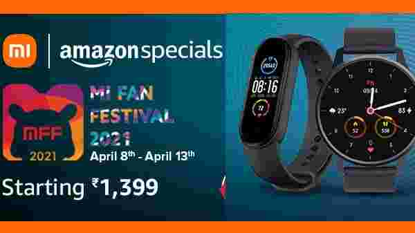 Mi Fan Festival Sale: Huge Discount Offers On Smart Watches, Smart Bands And Headsets