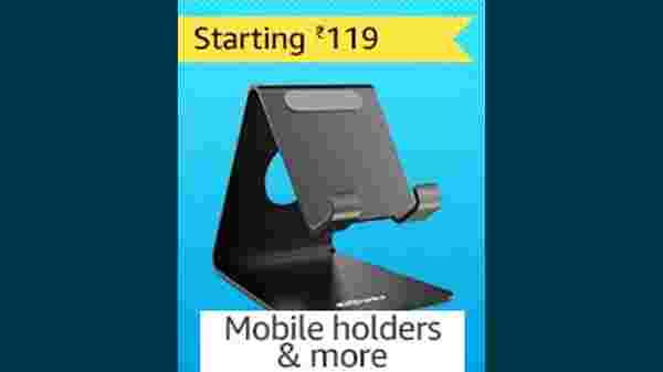 Mobile Holders Starting From Rs. 199