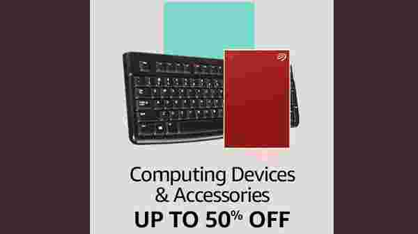Up To 50% Off On Computing Devices And Accessories