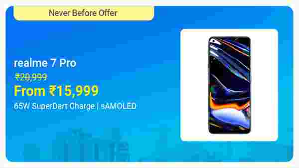 Realme 7 Pro (Mirror Silver, 128 GB)  (6 GB RAM)