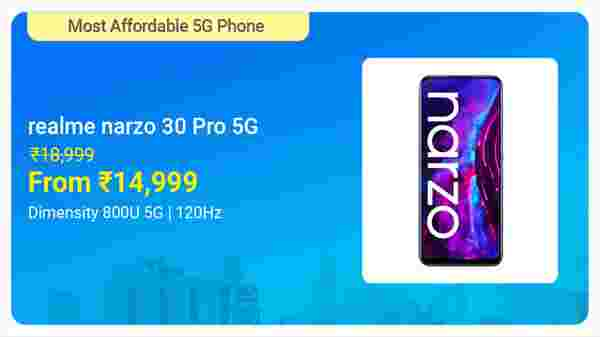 Realme Narzo 30 Pro 5G (Sword Black, 64 GB)  (6 GB RAM)