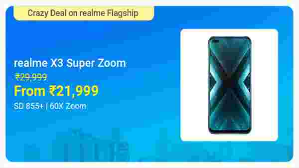 Realme X3 SuperZoom (Arctic White, 128 GB)  (8 GB RAM)