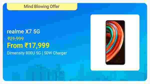 Realme X7 Pro 5G (Mystic Black, 128 GB)  (8 GB RAM