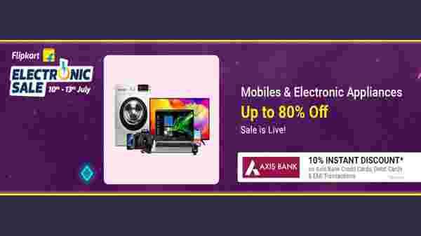 Flipkart Electronics & Appliances Sale