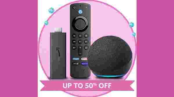 Up To 50% Off On Echo, Fire TV, And Kindle