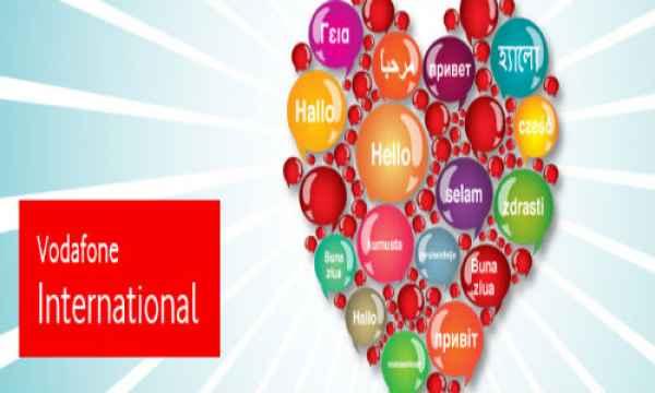 Vodafone international roaming packs