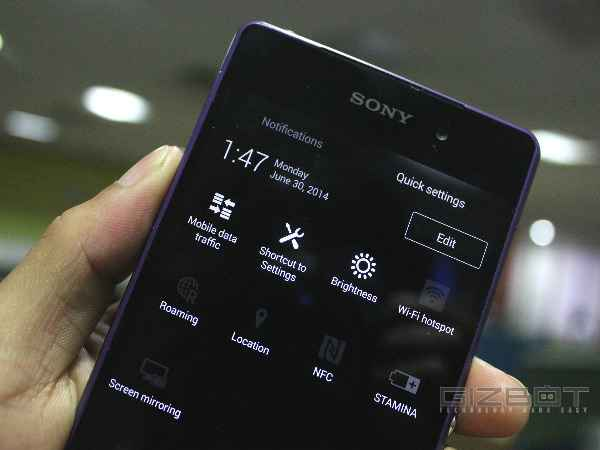 Sony Xperia Z2 Gets Android 5 0 Lollipop Update in India