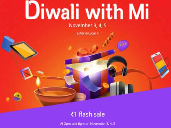 Xiaomi's Diwali Offer Delas on Mi 4i, Mi 4, Redmi 2 Prime