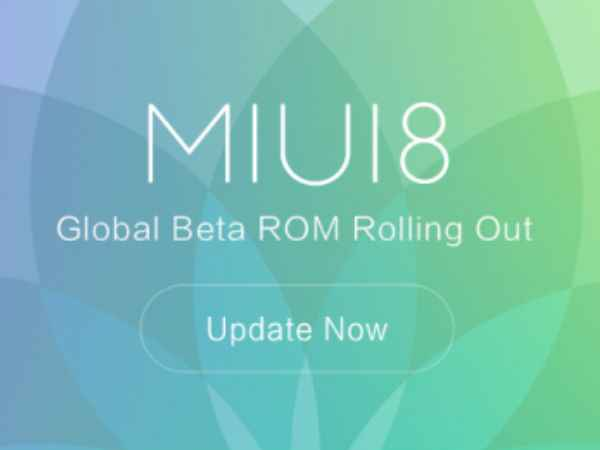 Xiaomi MIUI 8 Global Beta ROM released: List of supported