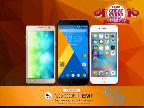 Amazon Great Indian Festival Sale: Buy These 10 Smartphones