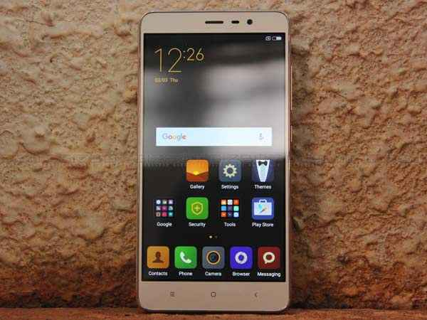 Xiaomi Redmi Note 3 to receive Android 7 1 1 Nougat soon