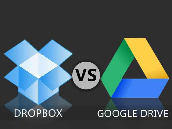 Google Drive vs Dropbox: Which one should you use? - Gizbot News