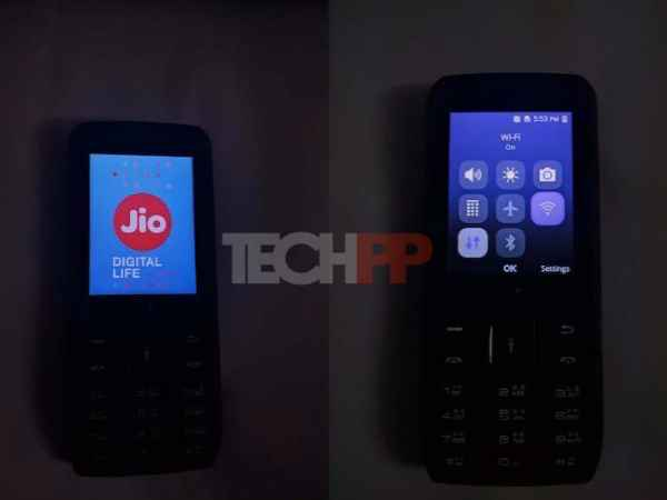 Reliance LYF 4G VoLTE feature phone hands-on images and