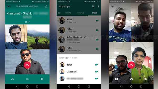 WhatsApp group video and voice calling rolled out to more users ...