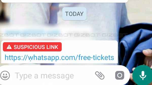 WhatsApp 'Suspicious Link Indicator' rolled out for all