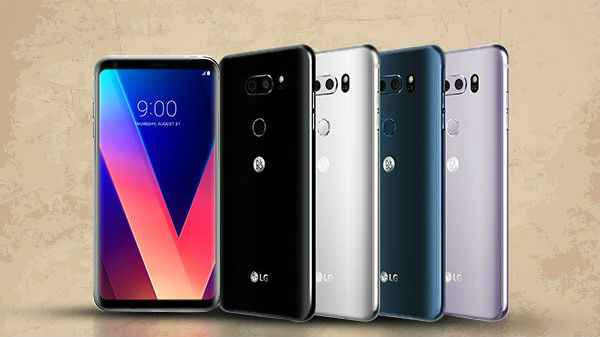 LG V40 ThinQ's leaked specs suggest five cameras and
