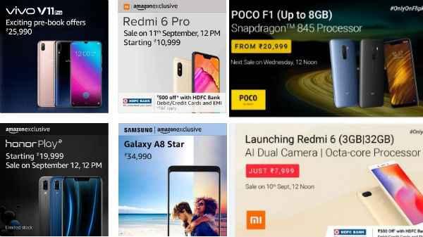 This Week smartphones Flash Sale in India: Poco F1, JioPhone
