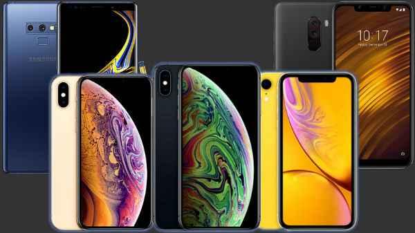 Trending smartphones of last Week: iPhone XS, Poco F1, Vivo