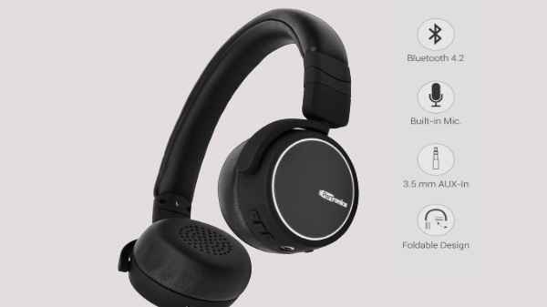 Portronics Muffs R Bluetooth Earphones With Mic Launched In India For Rs 3 999 Gizbot News