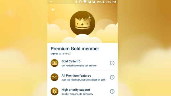 Truecaller Gold: Stand out from the crowd - Gizbot News