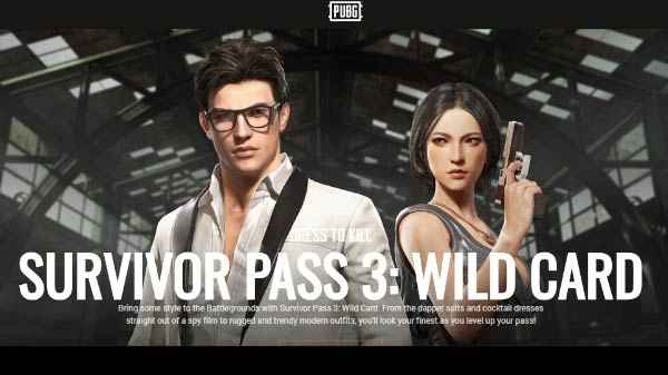 Pubg Pc Receive Update 27 With Survivor Pass 3 Wild Card Mp5k