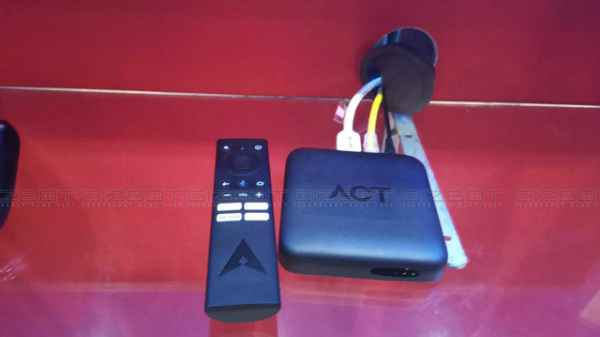 ACT Fibernet Launches 'ACT Stream TV 4K' Device - Gizbot News