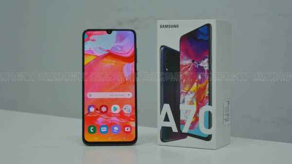 Samsung Galaxy A70 receives first software update in India