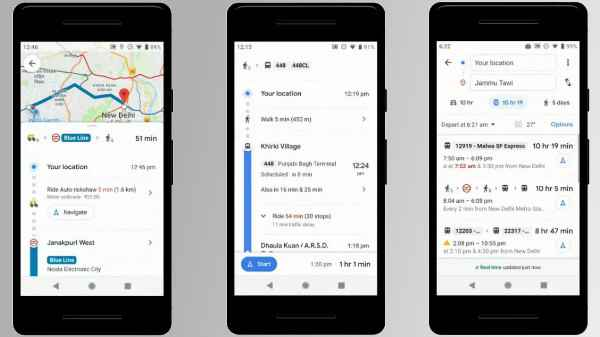 Google Maps Update Brings Three Useful Features To Indian