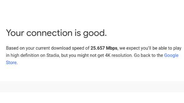 Google Stadia Speed Test Tool: How to Speed Test, Features