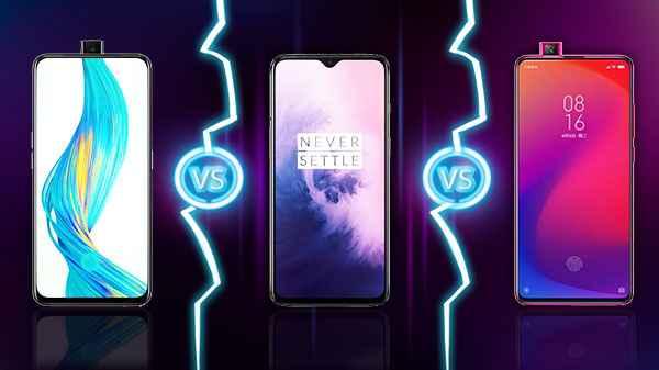 Redmi K20 Pro vs OnePlus 7 vs Realme X – Price